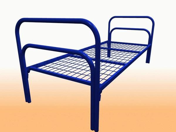 Заказать дешевые кровати металлические у производителя 2
